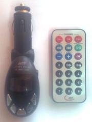 FM - модулятор с пультом ДУ