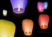 Продажа небесных фонариков