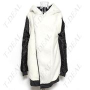 Стильное утепленное зимнее пальто Hoodie