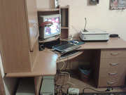 Углово компьютерный стол