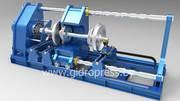 Пресс для запрессовки и распрессовки колесных пар Мускул-КПРЗ-400М