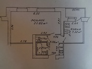 Продается 1 – комнатная квартира в г. Новополоцке по ул. Гайдара 7.