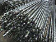 Арматура рифленая стальная.