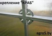 Теплицы из поликарбоната в Новополоцке